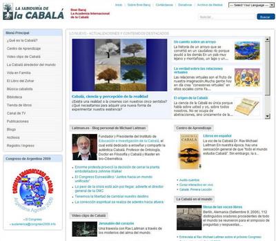 spanische webseite